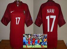 Oficial De Portugal Euro 2016 Hogar Camiseta De Fútbol Nani XL M. United Valencia Rara