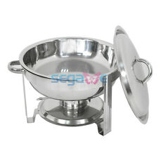 Chafing Dish 5 Quart Stainless Steel Durable Frame Tray Buffet Catering