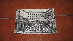 Carte Postale Montecatini Therme Auberge une Plus Grande Et Café Gambrinus Fg VG