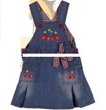 Baby Mädchen Jeanskleid, Latzkleid, Kleid Gr. 80, 86, 92