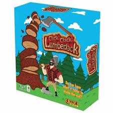 Click Clack Lumberjack Board Game Card Game