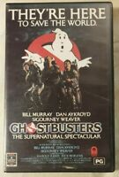 Ghostbusters VHS 1984 Horror/Comedy Ivan Reitman 1985 RCA/Col/Hoyts (Ex-Rental)