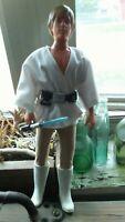 "Vintage Kenner Star Wars 12"" inch Farmboy Luke Skywalker. Original Lightsaber!"