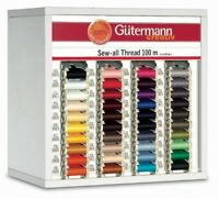 GUTERMANN SEW ALL THREAD 100% POLYESTER COTTON 110yds 100M SEWING ROLL YARN