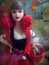Little Red Riding Hood & Wolf Barbie 2008 Collector Mattel NIB