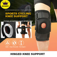 Knee Brace Adjustable Open Patella Joint Support Sports Hiking Pain Relief