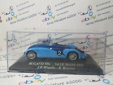 Bugatti 57G - 1st LE MANS 1937 1:43 eme  avec boite plexi   (  neuf  )