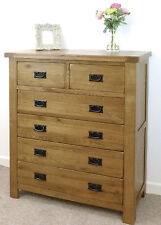 Rustic Bedroom 101cm-150cm Height Chests of Drawers