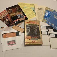 Advanced Dungeons & Dragons Champions of Krynn Video Game - Commodore 64/128 CIB
