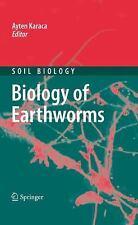 Biology of Earthworms 24 by Ayten Karaca (2010, Hardcover)