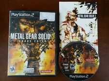 Metal Gear Solid 3: Snake Eater  (Sony PlayStation 2, 2004) Complete!