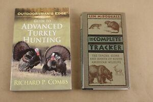 Retro Hunting Books Lot of 2-The Complete Tracker & Advanced Turkey Hunting