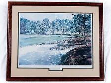 """KENNETH REED """"Legends Remembered"""" Pinehurst no. 2 Framed & Signed #51/950 36x30"""""""