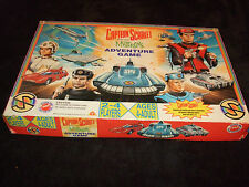 CAPTAIN SCARLET AND THE MYSTERONS-FAMILY ADVENTURE BOARD GAME BY PETER PAN 1993