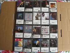 Lot of 20 SEALED rare JAZZ cassettes : Milt Jackson, Hank Crawford, The Jazztet