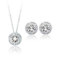 Angelic Jewellery Set with Swarovski Crystals WGP Sister Mum Bridal Bridesmaid