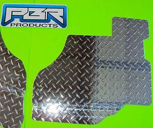 2012 - 2018 CAN AM Maverick Diamond Plate Aluminum Floor board Set NEW