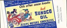 DISNEY-Sunoco 1939-Promo Blotter-A-636-Donald,Mickey & Goofy