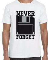 Never Forget To Save Funny Gaming Top Gamer Corrupt Unisex T Shirt Tee