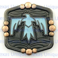 Southwest Thunderbird Concho With Turquoise CON303-C-B-ACPR