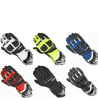 Berik Spa Motorcycle motorbike racing sport long CE leather Gloves