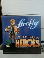 Serenity/Firefly Little Damn Heros Wash Maquette