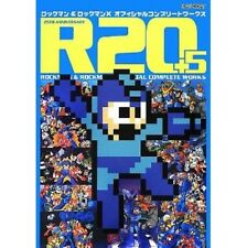 R20+5 Mega man Rockman & Mega man X official complete works art book