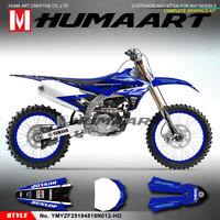 MX Graphics Custom Decal Kit Vinyl Wrap for Yamaha YZ450F YZ250F 2018 2019 2020