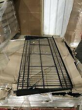 17x Madix Mbws15lwb 422 Black Bakery Wire Shelf Welded Brackets Never Used