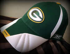 GREEN BAY PACKERS REEBOK ADULT STITCHED FLEX FIT ONE SIZE FITS ALL ON FIELD CAP