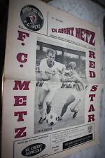 Ancien Programme EN AVANT METZ )) SOCHAUX V RED STAR 1968/69
