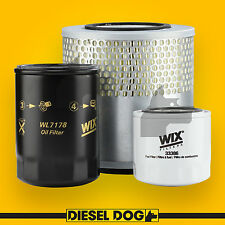 Air Oil Fuel Filter Service Kit - Holden Rodeo TF - Diesel Dog 60020