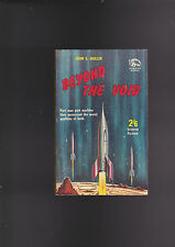 VINTAGE UK PB.BADGER SCIENCE FICTION STORIES#112GREAT  COVER.RARE TITLE.