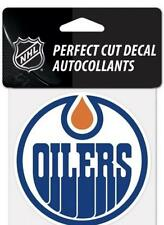 "(HCW) Edmonton Oilers Auto Badge Car Decal 4""x4"" NHL Licensed *FREE SHIP"