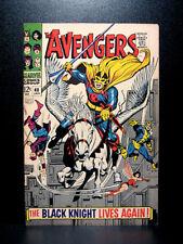 COMICS: Marvel: Avengers #48 (1968), 1st Black Knight III (Dane Whitman) app