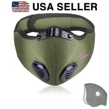 USA Cycling Air Purifying Face Mask Cover Washable Reusable Filter KIDS SIZE
