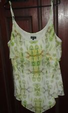 CITY CHIC POLYESTER CAMI TANK TOP PLUS SIZE XL 22