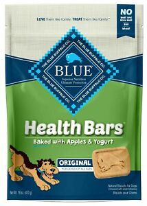 Blue Buffalo Health Bars For Dogs, Apple Yogurt