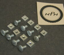 Vtg New NOS Bicycle Fender Brace Hardware Bolts & Nuts / Quantity of 8