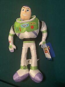 """New Disney Toy Story 4 Buzz Lightyear 17"""" Stuffed Soft Nylon Doll BRAND NEW"""