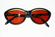 0e039a90ab Vintage Serengeti Catseye ISLES DR 6334 Black Frame Only Sunglasses Rx  Lenses