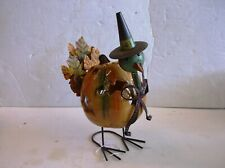 Ceramic Pumpkin Tea Light Candle Holder