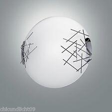 Fabas Luce Retrofit Plafoniera Attaccare 2-fuochi 2994-65-138 cromo/Opale bianco