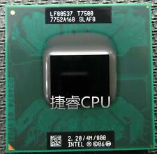 Intel Core 2 Duo T7500 SLAF8 CPU 4M Socket P Cache/2.2GHz/800 Processor