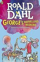 Georges Marvellous Medicina Dahl Fiction Libro en Rústica Roald