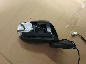P1 2008-13 HONDA JAZZ  DRIVERS SIDE OFF SIDE  MIRROR DAMAGED 5 WIRES