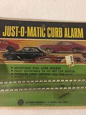 Vintage Just-O-Matic Curb Alarm Curb Feelers Curb Indicators Car Curb Detectors