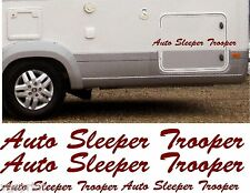 AUTO SLEEPER TROOPER 4 PIECE KIT DECALS STICKERS CHOICE OF COLOURS & SIZES