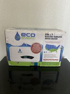 NEW ECO SMART POU 3.5  120 VOLT ELECTRIC TANKLESS WATER HEATER