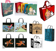 Tim und Struppi Einkaufstaschen - Tintin shopping bags (Moulinsart 4227-4232)